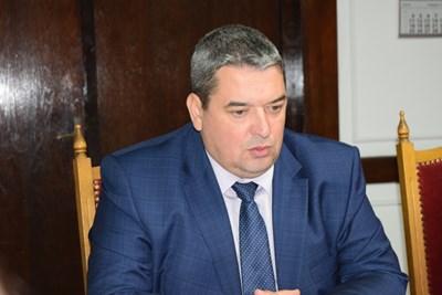 Кметът на Горна Оряховица инж. Добромир Добрев