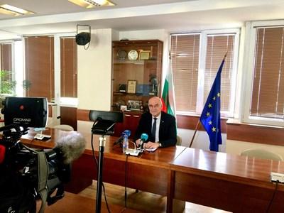 Председателят на КЕВР Иван Иванов.