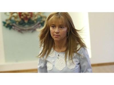 Мария Маринова в президентството по времето на Плевнелиев Снимка: mirogled.com