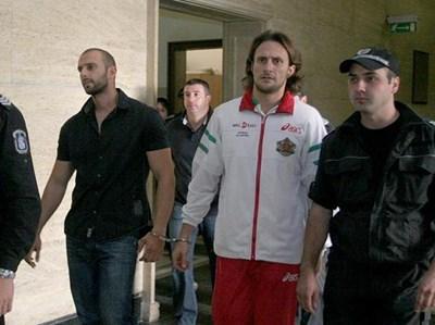 Мистър България 2003 Мирослав Йончев в съда.