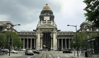 Съдебната палата в Брюксел Снимка: Уикипедия/ Paul Hermans