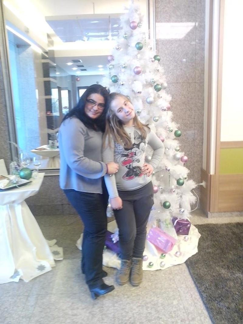 Биляна Стършелова (вляво) и Йоана Митова продължават да се виждат и след трансплантацията