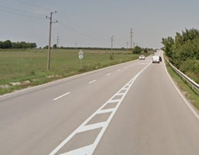 Пътят Разград - Русе СНИМКА: Google Street View