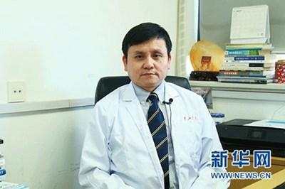 Китайският експерт по инфекциозни заболявания Джан Уънхун СНИМКА: Радио Китай