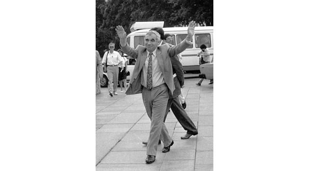 Машина на времето: 1.8.1990 г. Д-р Желю Желев избран за президент