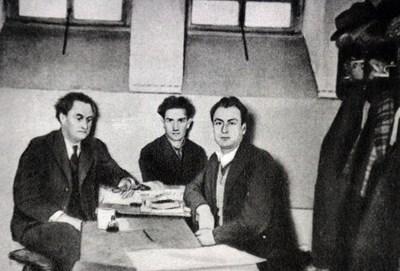 Февруари 1934 г. Тримата българи в затвора в Берлин, след оправдателната присъда...