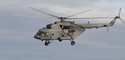 """Хеликоптер """"Ми-8"""". Снимката е илюстративна. ИЗТОЧНИК: РОЙТЕРС"""