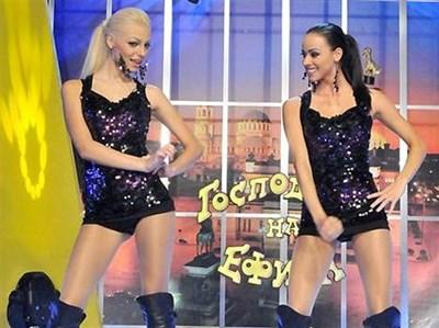 Ваня Георгиева (вляво) и Весела Гюрова са новите адреналинки, които поемат щафетата от Жана и Алекс. СНИМКА: БУЛФОТО
