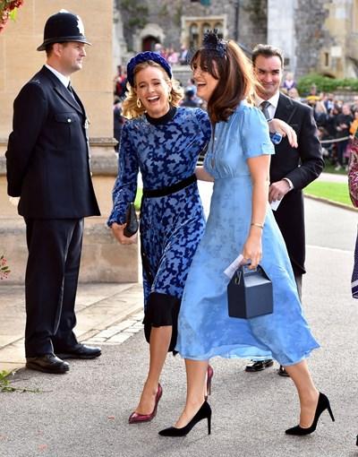 бившата приятелка на принц Хари Кресида Бонас (вляво)