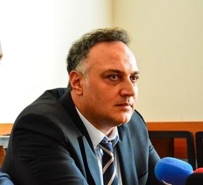 Областният управител на Варна Стоян Пасев СНИМКА: Архив