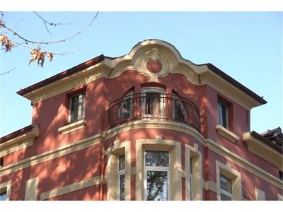 """Имотът на Ангел Рашков на бул. """"Руски"""" в Пловдив. Там той е купил тавански етаж и гараж."""
