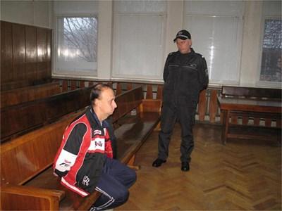 Димитър Георгиев в съда СНИМКА: АРХИВ