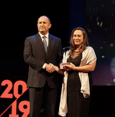 Светла Несторова стана мениджър на годината за 2019 г. СНИМКА: Десислава Кулелиева