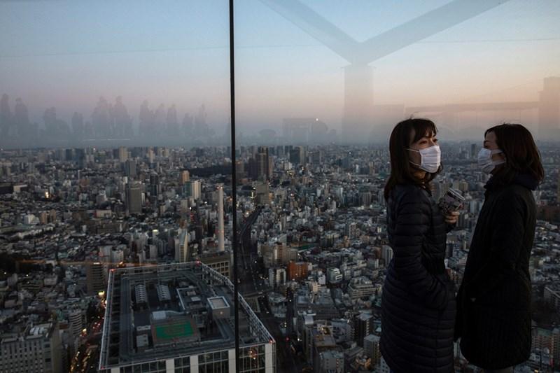 Небостъргач в Токио, Япония