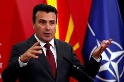 Премиерът на Северна Македония Зоран Заев СНИМКИ: Ройтерс
