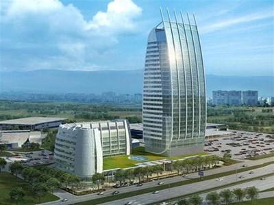 """Дори на пръв поглед ще има явна прилика между столичния небостъргач и легендарния """"Бурж ал араб""""."""