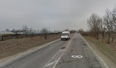 Пътят Пазарджик-Септември  СНИМКА: Гугъл стрийт вю