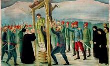 Отец Христо Павлов изповядва Левски на бесилото и погребва главата на Бенковски
