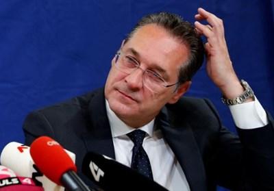 Австрийският вицеканцлер Хайнц-Кристиан Щрахе СНИМКА: Ройтерс