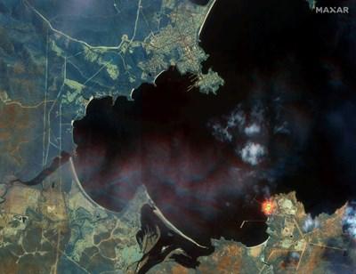 Сателитен кадър над Австралия СНИМКИ: Ройтерс
