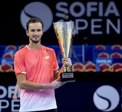 В София Данил Медведев спечели 4-ата титла в кариерата си. Снимки: Десислава Кулелиева