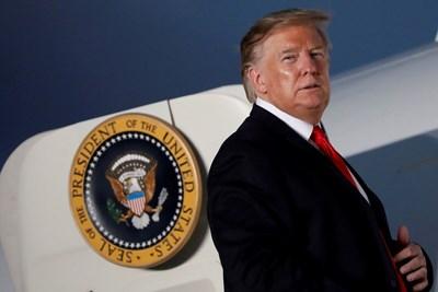 Американският президент Доналд Тръмп СНИМКА: Ройтерс