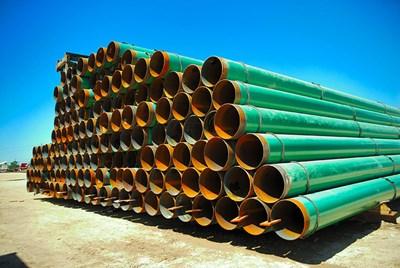 Компанията трябва да достави тръби за 182 км газопровод до 12 месеца.