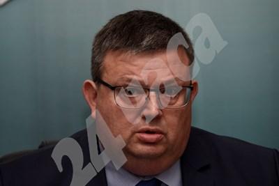 Мандатът на Сотир Цацаров изтича на 10 януари 2020 г. СНИМКА: 24 часа