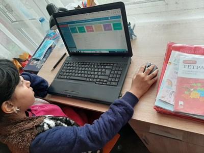 Повечето от учениците с интерес участват във виртуалните класни стаи, а учителите бързо усвоиха преподаването онлайн.