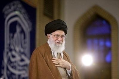 Върховният лидер на Иран - аятолах Али Хаменей СНИМКА: Ройтерс