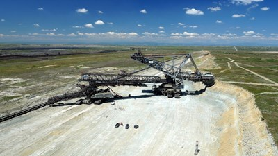 """Секторът """"Добив на въглища"""" остава сред най-рисковите производства в област Стара Загора, според КНСБ.    СНИМКА: Ваньо Стоилов"""
