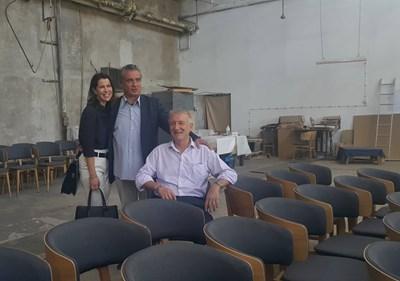 Здравко Милев (правият) показа възможностите за инвестиции в Кюстендил на австрийските инвеститори.