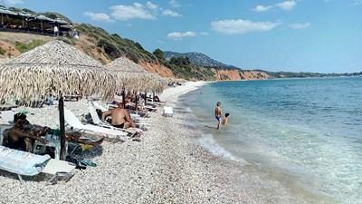 """Стотици хиляди българи почиват в Гърция по линия на туроператорската фирма, която в момента има финансови затруднения.  СНИМКА: """"24 ЧАСА"""""""