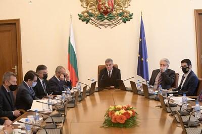 Заседание на служебното правителство СНИМКА: ЙОРДАН СИМЕОНОВ