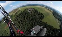 360° видео от парапланер