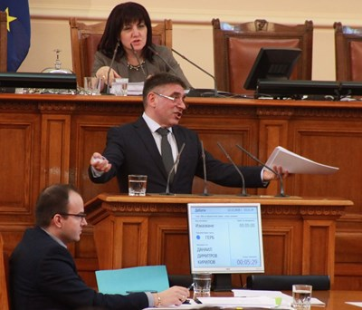 Шефът на правната комисия Данаил Кирилов СНИМКА: РУМЯНА ТОНЕВА
