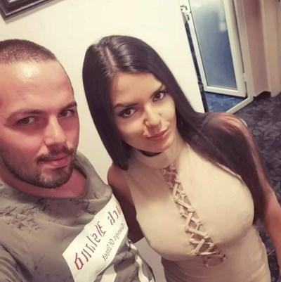 Даниел и съпругата му Татяна