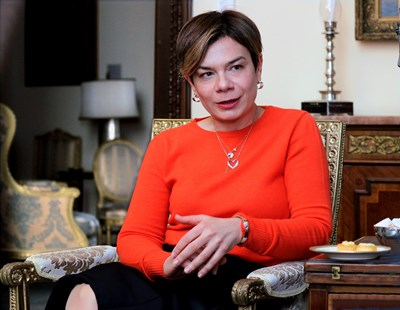Айлин Секизкьок, посланик на Турция у нас СНИМКА: Румяна Тонeва