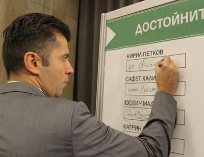 """Кирил Петков, носителят на най-голямата награда """"Златният ритон"""""""