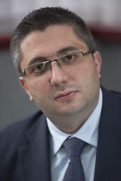 Зам.-министърът на регионалното развитие и благоустройството Николай Нанков СНИМКА: Архив