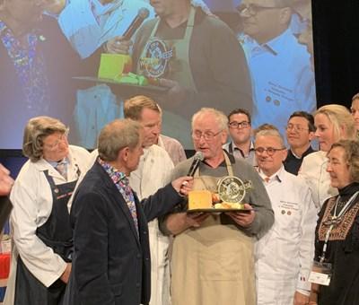 Норвежкият фермер и производител на най-хубавото сирене за 2018 г. Йорн Хафслунд Снимка: The Guild of Fine Food