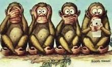 Ето я четвъртата маймунка...