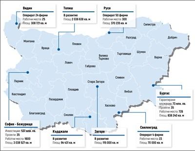 10 г. след създаването им: Бизнес за повече от 600 млн. лв. в държавните индустриални зони
