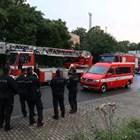 Пожарни обградиха стадиона