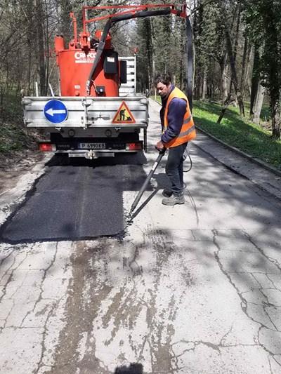 Приключи текущият ремонт на главната улица и др. пътни участъци в с. Николово. Снимка община Русе