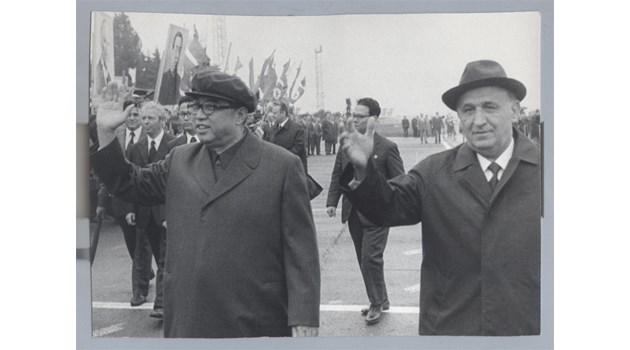 Тодор Живков е брат на великия вожд Ким Ир Сен