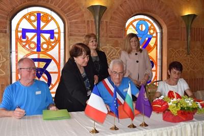Договорът за побратимяване бе подписан във Велико Търново