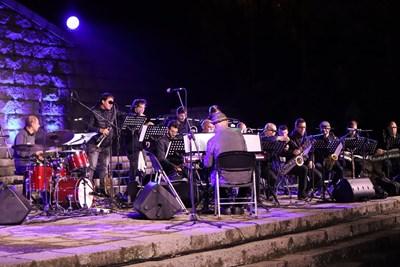 Концертът на върха на тепето беше кулминацията.