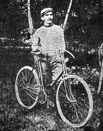 Героят на велосипедната езда Христо Бучекчиев