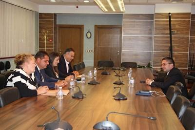 Министър Нанков се срещна с областните управители на Видин, Враца, Ловеч и Монтана Снимка: Пресцентър МРРБ